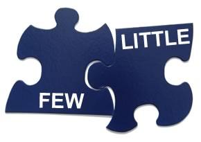 فرق  (little ,a little) و (a few, few)